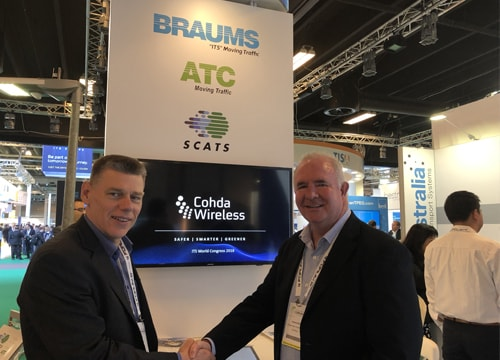 Cohda Wireless signs MOU with ATC | BRAUMS